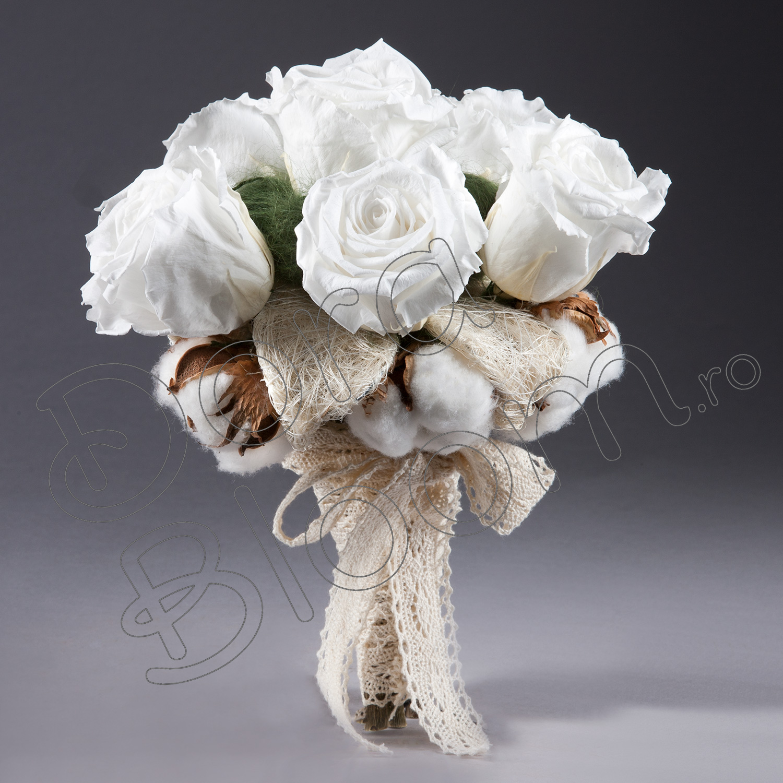 Trandafiri Criogenati Buchet De Nasamireasa Pure